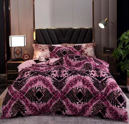 КПБ семейный VERSACE home collection