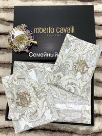 КПБ семейный Roberto cavalli home collection